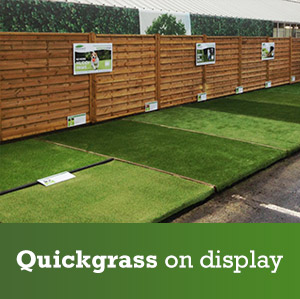 Quick Grass on display